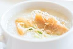 Congee Rice Porridge Stock Image