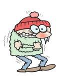 Congelação ilustração stock