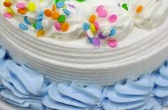 Congelación en una torta 2 Foto de archivo libre de regalías
