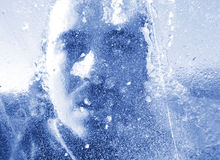 Congelado Foto de Stock