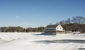Congelado en el lugar Fotos de archivo libres de regalías