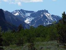 Congelado a la montaña de la muerte Foto de archivo libre de regalías