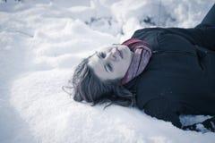 Congelado a la muerte imagen de archivo libre de regalías