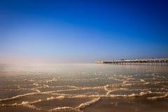 Congelado o mar Báltico Fotos de Stock