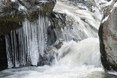 Congelado a tempo Fotos de Stock Royalty Free