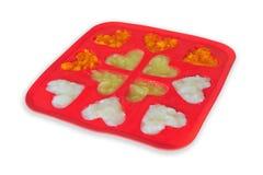 Congelador de los alimentos para niños Foto de archivo libre de regalías