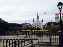 Congelador de New Orleans Foto de archivo libre de regalías