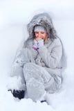 Congelamento Fotografie Stock