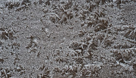 Congelamento no metal Fotos de Stock