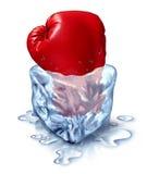 Congelando para fora a competição Foto de Stock Royalty Free