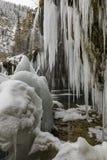 Congelato, colorado, facente un'escursione, viaggio, S.U.A., inverno, neve fotografie stock