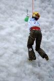 Congele a escalada Imagem de Stock