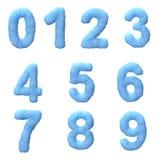 Congele números Foto de Stock