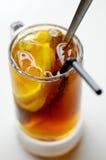 Congele o chá do limão Imagem de Stock Royalty Free