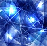 Congele o fundo abstrato com linhas textura da superfície gelado ilustração royalty free