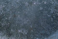 Congele o fundo com marcas da neve da patinagem e do hóquei Fotos de Stock