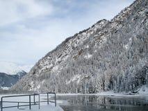 Congele a represa Fotos de Stock