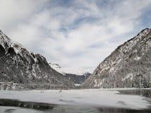 Congele a represa Foto de Stock