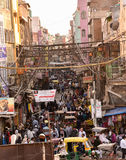 Congested streets of Old Delhi Stock Photo