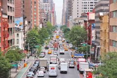 Congestion de New York Image libre de droits