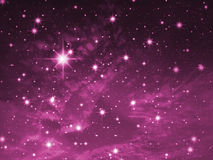 Congestion of stars Royalty Free Stock Photo