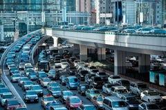 Congestione dell'automobile fotografia stock libera da diritti