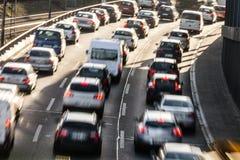 Congestione sulla strada principale immagine stock libera da diritti