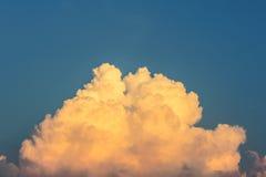Congestus de cumulus Photographie stock libre de droits