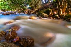 Congkak-Flussufer Stockfotografie