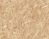 Conglomerado marrón claro comprimido Madera del vector Foto de archivo