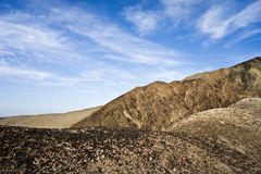 Conglomerate mountains Stock Image