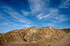 Conglomerate mountains Royalty Free Stock Image