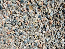 Conglomerate rock Stock Photo