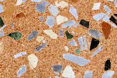 Conglomerate rock tile Royalty Free Stock Photography