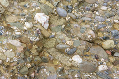 Conglomerate texture background Royalty Free Stock Photo