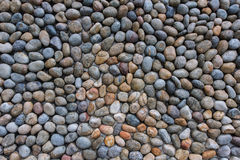 Conglomerate wall background Stock Photo