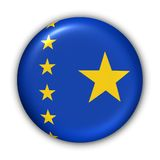 congo bandery demokratycznej republiki Zdjęcia Stock