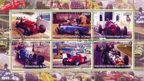 Racing at Formula One Royalty Free Stock Images