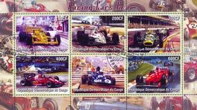 Racing at Formula One Royalty Free Stock Photo