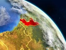 Congo del espacio stock de ilustración