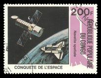 Congo, exploração do espaço, viagem espacial Imagens de Stock Royalty Free