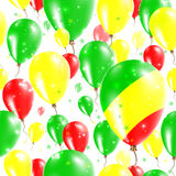 Congo Independence Day Seamless Pattern. Stock Images