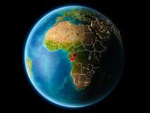 Congo por la tarde Foto de archivo libre de regalías