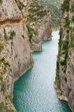 Congost de Mont-rebei, Испания Стоковые Фото