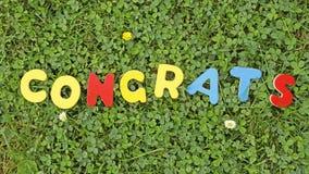 Congrats Stock Foto's