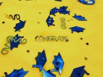 Congrats au diplômé Image libre de droits