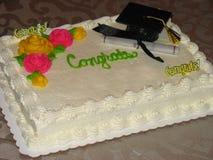 Congrats cake Royalty Free Stock Photos