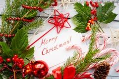 Congrats op Kerstmis Stock Afbeeldingen