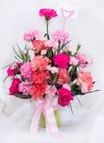 Congratulate vase Stock Photography