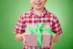 Congratulating on holiday Royalty Free Stock Photos
